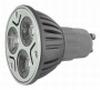 ex C001 - LED-spot 230V- 3x 1 watt - GU10