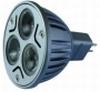 ex C019 - LED-spot 12V- 3x 1watt - MR16